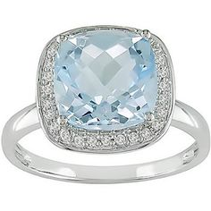 Somthing Blue- a Blue Topez Ring I purchased on overstock.com  Like us on facebook! http://www.facebook.com/#!/chanceofshowersonline