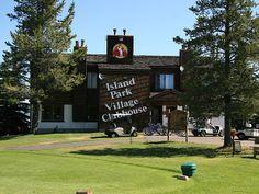 Island Park Village Clubhouse - Idaho: http://globaltravelsblog.com/travel-adventures/experience-yellowstone-national-park-stay-island-park-village/