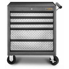 Gladiator 5-Drawer Classic Roll Away Garage Tool Cabinet