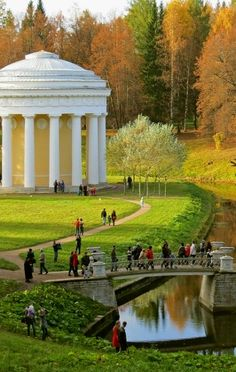 Pavlovsk Park, St. Petersburg, Russia - Courtesy of Hotel Vera - Boutique Hotel in St Petersburg - #StPetersburg #SaintPetersburg #Russia http://hotelvera.ru