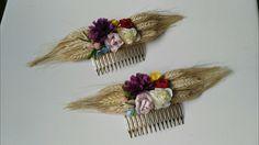 Peinecillos con trigo preservado. Ideal para Romerias.