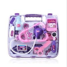 Baby Pretended Doctor Play Set Carry Case Medical Kit. Baby Pretended Doctor Play Set & Carry Case Medical Kit. Kidney Basin. Help the kids to know more about doctor and some medical knowledge. Bright and colorful effectively improve baby's cognitive ability of color.   eBay!