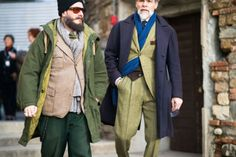 the 85th Pitti Uomo fashion week