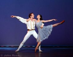 John Ross Ballet Gallery - Artur Shesterikov - Prince Guillame and Maia Makhateli - Cinderella in Act III