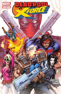 Deadpool vs. X-Force 001 (2014) …………… | View Comic