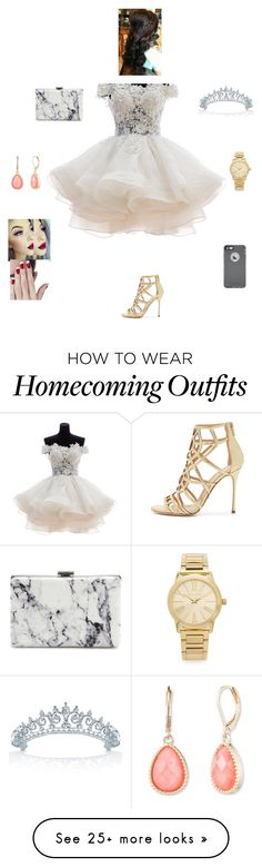 """M O A P"" by queen-kaitlyn on Polyvore featuring Sergio Rossi, Balenciaga, Bling Jewelry, Vintage America, Michael Kors and OtterBox"