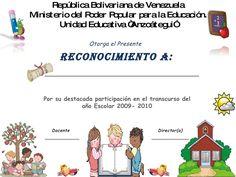 Diploma niños