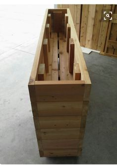 Expertly crafted timber planter boxes & raised garden beds for balconies, decks, courtyards, gardens and cafés. Tall Planter Boxes, Cedar Planters, Tall Planters, Wood Planter Box, Modern Planters, Diy Planters, Balcony Planters, Garden Boxes, Garden Ideas