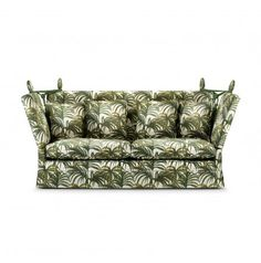 A M H U R S T - Sofa Palmeral White & Day Green http://www.houseofhackney.com/home/furniture/a-m-h-u-r-s-t-palmeral-white-day-green.html
