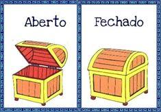 Atividades Escolares: Fichas para trabalhar os opostos Preschool Activity Books, Activities For Kids, File Folder Games, English Activities, School Colors, English Words, Pre School, School Projects, Classroom Decor