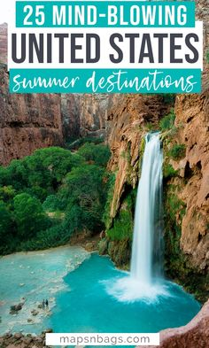 Looking for the best summer vacation spots in the United States? Only bucket list destinations and places to visit. Ignite your wanderlust with these road trips and honeymoon ideas. Including spots in California, on beautiful beaches, and much more! Check it out and get inspired to travel in the US! | traveling in USA | USA travel | places to visit in USA | summer in USA | summer vacation in USA #USA #Adventure #Summer #Travel Vacation Places In Usa, Best Summer Vacations, Usa Places To Visit, Summer Vacation Spots, Summer Travel, California Places To Visit, Best Vacation Destinations, Amazing Destinations, Beautiful Places To Travel
