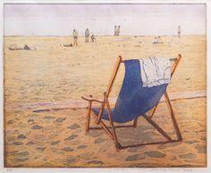 Marcel Schellekens - Strandstoeltje - kleurenets