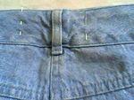 DIY: reprendre une taille de jeans