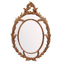 Chippendale Mirror New Oval Free shipping