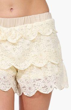 Frill Lace Shorts