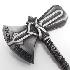 Stormbreaker Hammer of Thor Pendant Necklace – Vintage Jewelry – Affordable Jewelry and Accessories Marvel Dc Comics, Marvel Avengers, Rocket Raccoon, Thors Hammer, Affordable Jewelry, Axe, Weapon, Enchanted, Vintage Jewelry