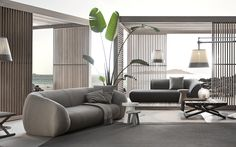 Palau outdoor sofa by Exteta. Available from Pure Interiors.