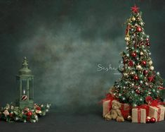 Christmas backdrop sitter toddler boy or girl digital background greens and blue tree family older children put your prop Christmas Room, Christmas Minis, Christmas Photos, Family Christmas, Cloud Fabric, Christmas Backdrops, Digital Backdrops, Christmas Wallpaper, Blue Nails