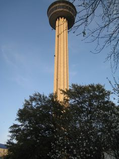 Tower of the America's in Hemisphere Park in San Antonio