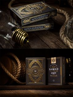 Nomad Playing Cards by Chad Michael Studio Business Cards Layout, Book Art, Hp Book, Print Finishes, Foil Stamping, Packaging Design Inspiration, Print Design, Graphic Design, Letterpress