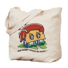 Dachshund hanging' around Tote Bag