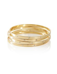 Accented Bangle Bracelets from THELIMITED.com #TheLimited