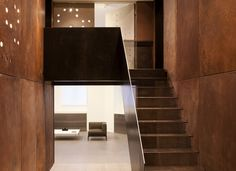 Project Elizabeth   by 1508 London   staircase   copper   converted postal office