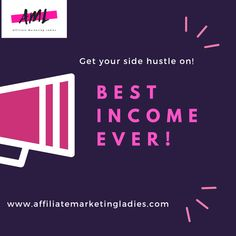 Affiliate marketing is a great way to earn income online Self Driving, Self Development, Earn Money, Affiliate Marketing, Hustle, Knowledge, Success, Writing, Motivation