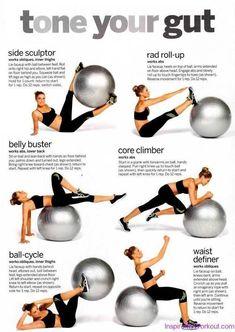 11 mejores imágenes de pilates con pelota  39fddc5f7bbe