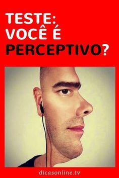Teste de personalidade: pessoas perceptivas