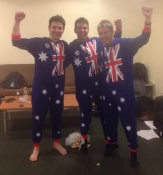 Emmet, Ryan and Neil having a PJ party. Pj Party, Party Suits, Beautiful Voice, Beautiful Men, Ryan Kelly, Celtic Music, Celtic Thunder, Cool Bands, Outlander