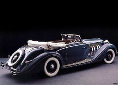 Delage D8 120 Cabriolet (1938) by French automobile coachbuilder Chapron (founded in 1919) coachbuild.com