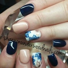 Prohesion acrylic with Gelish colors