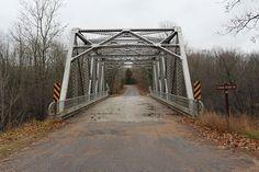 Smyth Road Bridge Lakewood WI