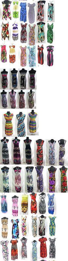 Dresses 50986: 100 Pcs Wholesale Bohemian Dresses, Beach Dress Bulk Cheap*Ship From Us Canada* -> BUY IT NOW ONLY: $595 on eBay!