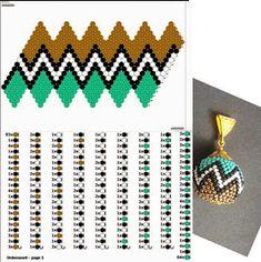 Bead Crochet Patterns, Beading Patterns Free, Peyote Patterns, Cross Stitch Patterns, Bead Jewellery, Diy Jewelry, Beaded Jewelry, Crochet Ball, Loom Beading
