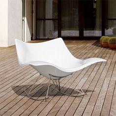 Stingray Rocking Chair by Thomas Pedersen Plastic Rocking Chair, Danish Design Store, Luxury Interior Design, Upholstery, House Design, Furniture, Home Decor, Hammocks, Gliders