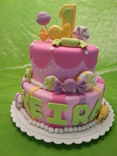 Candy Shoppe birthday cake