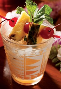 Classic Mai Tai- drink of choice, my favorite drink in the world