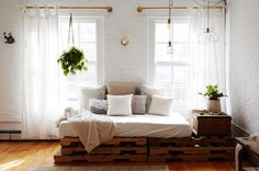 Een loft in New York vol inspiratie voor DIY's - Roomed   roomed.nl