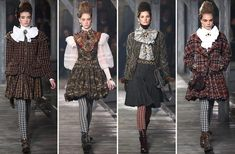 Scotland sets the scene for Chanel's fashion show: Metiers D'Art 2012/2013 - hellomagazine.com