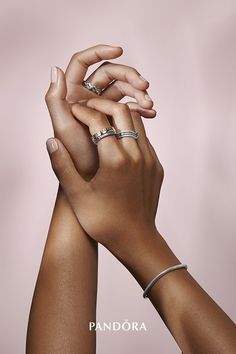 Let your personal style shine with the iconic Pandora wishbone rings, now available in gleaming gold-plated sterling silver. Sport the rings vertically or sideways and in cool, contrasting combinations with chevron-shaped sterling silver pieces. Pandora Rings, Pandora Bracelets, Pandora Jewelry, Gold Jewelry, Diamond Jewelry, Jewellery, Sterling Silver Cross Pendant, Sterling Silver Rings, Engraved Jewelry