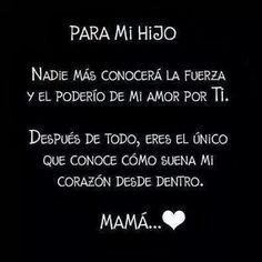 Iker y marle Mom Son, To My Daughter, Daughters, Mom Quotes, Life Quotes, Mother Quotes, Baby Quotes, Dating Quotes, Love You