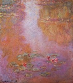 lonequixote:   Water Lilies (1908) by Claude Monet... | Lone Quixote