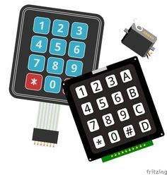 Arduino and android based universal ir remote control arduino arduino keypad controlled servo fandeluxe Images