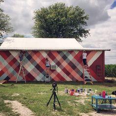 Our barn studio got a little makeover! #1canoe2