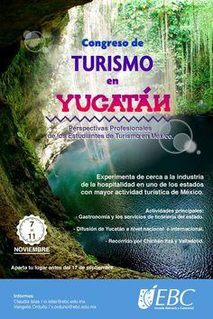 ¡Experimenta de cerca la industria del turismo! Visita Yucatán y aprende mucho más de su carrera. #CampusReforma