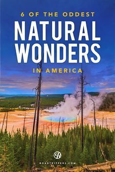 We've traveled the country, from New York to Oregon, to bring you the absolute BEST natural wonders of the US.
