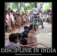 This IS discipline