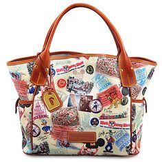 Walt Disney World 40th Anniversary Kristen Tote Bag by Dooney & Bourke